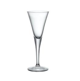 Set 3 Bicchieri Fiore Schnaps 5,5 cl Bormioli Rocco Calice Liquore Vetro Trasparente