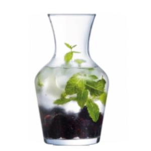 Caraffa Vin Arcoroc Bottiglia Vino Brocca Vetro Trasparente 0,25-0,50-1 litro