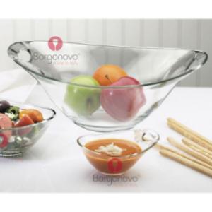 Coppa Practica Borgonovo Vetro Trasparente Finger Food Varie Misure