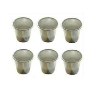 Set 6 Forma Baba' alluminio Vespa Monoporzione Varie Misure