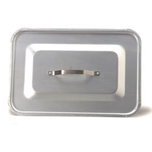 Coperchio Rettangolare Fasa Alluminio Comunità Ristorante Chef Varie Misure