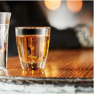 6 Bicchieri Gin Arcoroc Shoot Bicchierino Vetro Trasparente da 3 cl e 5 cl