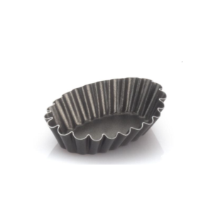 Set 6 Formine Ovali Ricce Vespa cm 7 Alluminio Antiaderente