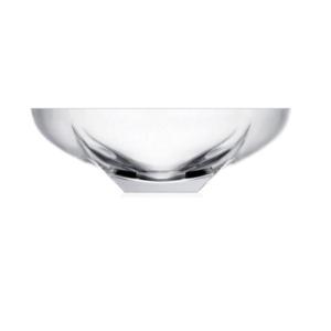 Centrotavola Fusion cm 30,5 RCR Vetro Cristallino Trasparente