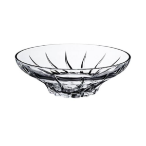 Centrotavola Trix cm 30,5 RCR Vetro Cristallino Trasparente