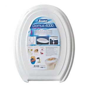 Sedile WC Domus 4000 Bianco BAMA Plastica Copriwater