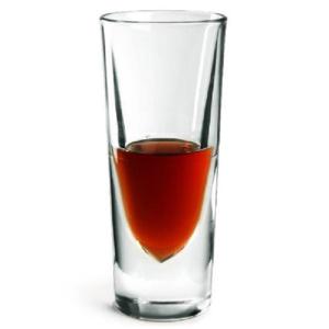 6 Bicchieri ROCKY 15 cl Borgonovo Bicchiere Amaro con Segno di Riempimento