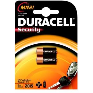 Batterie Security 12 Volt Duracell Alcaline Pila per Telecomando