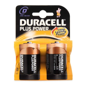 Batteria Torcia D Plus Power 1,5 V Duracell Pila