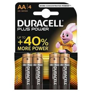4 Batterie Stilo Plus Power 1,5 V AA Duracell Pila