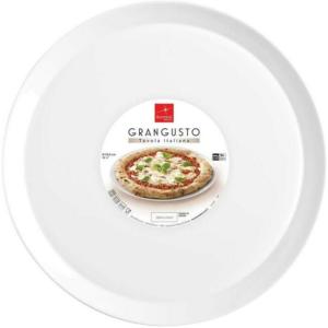 Set 6 Piatti Pizza cm 33,5 Grangusto Bormioli Rocco Piatto Vetro Opale