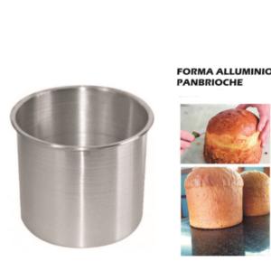 Forma PanBrioche Liotti Stampo Alluminio Varie Misure