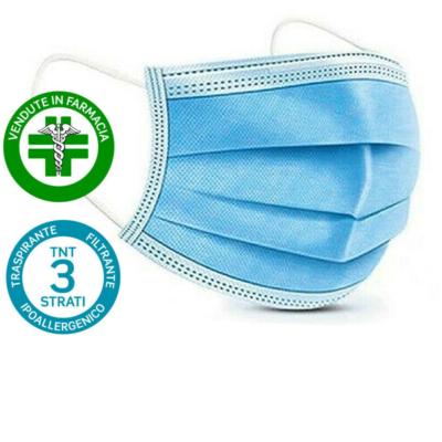 50 Mascherine Chirurgiche Mascherina Altamente Protettiva
