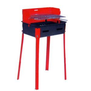 Barbecue D'Aluisio Rettangolare 25×35 a Carbonella Con Griglia