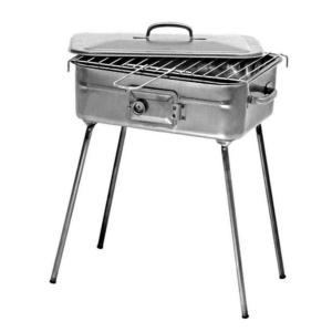Fornacella Pic-Nic Barbecue Ferro con Graticola e Coperchio